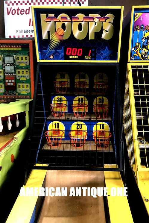 Hoops Arrey Roller/ Redemption arcade game