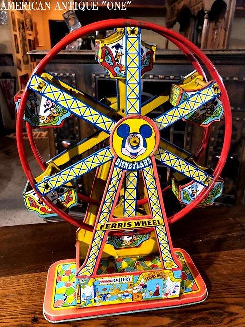 ブリキおもちゃ ディズニーランド観覧車 ヴィンテージ 大型42cm 音が鳴る♪