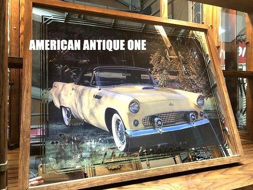 大型68cmで存在感抜群☆お洒落、カッコいい^0^ 1955年フォード サンダーバード アンティーク 壁掛けOK!! USA直輸入