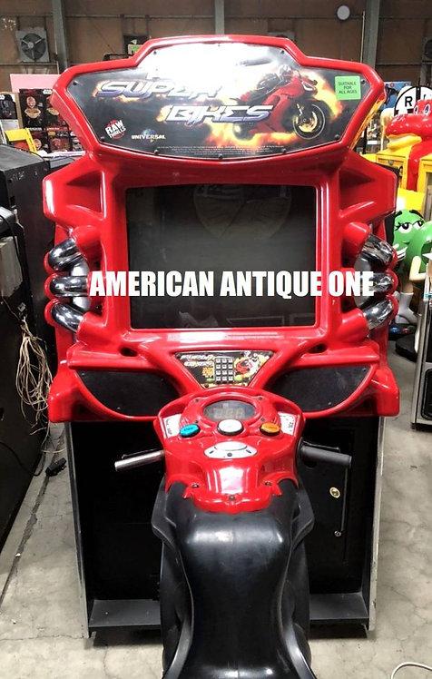 遊べる!! 大盛り上がり間違いなし!! ワイルド・スピードシリーズ / スーパーバイク レーシングアーケードゲーム USA直輸入