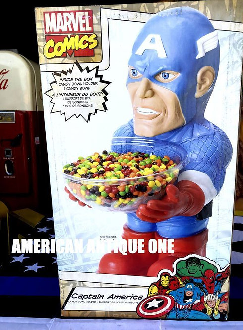 新品未開封 BOX大型54cm キャプテン・アメリカ アメリカンキャラクター★キャンディーボール ルービーズ 発泡スチロール