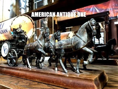 ちゃんと点灯いたします^^ 大型51cm カナディアン・ウイスキー シーグラム VO 馬車 ディスプレイ アメリカン・ヴィンテージ