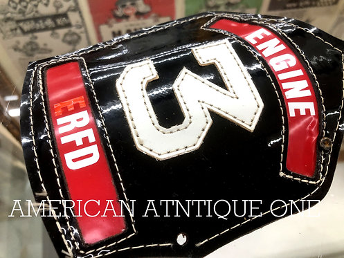 Helmet Leather Front Shield / USA Firefighter ERFD