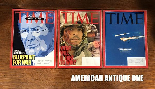 2003 Time Magazine 3 Volumes Set