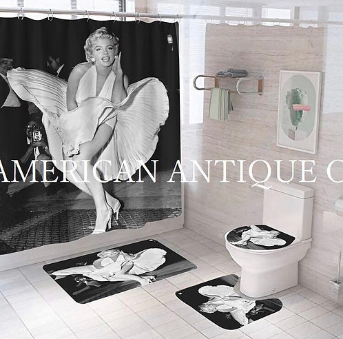 Marilyn Monroe Shower Curtain Set