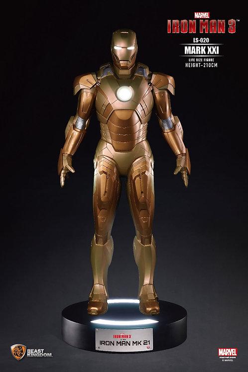 Iron Man Mark XXI / H210 x W90 cm