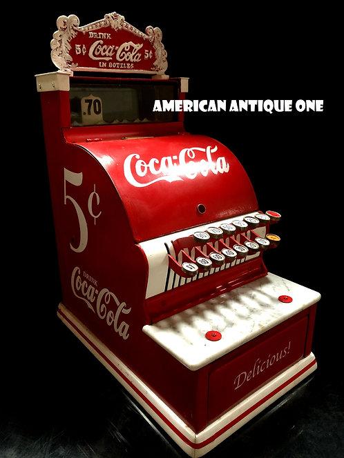 アメリカンヴィンテージ!! 1920年代 USAコカ・コーラ ナショナルレジスター社制作 モデル717 USA直輸入