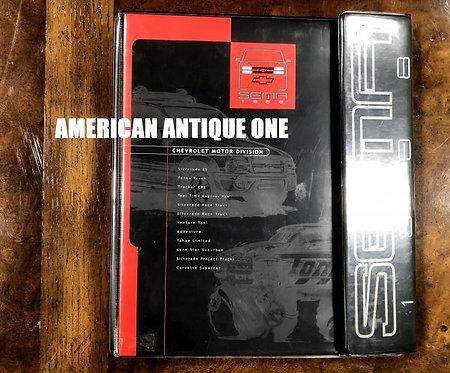 SEMA 1998 BOOK / catalog