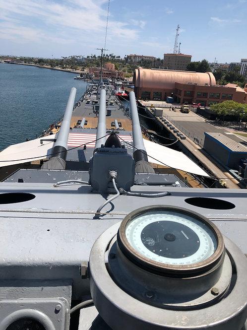 戦艦アイオワ 船内030