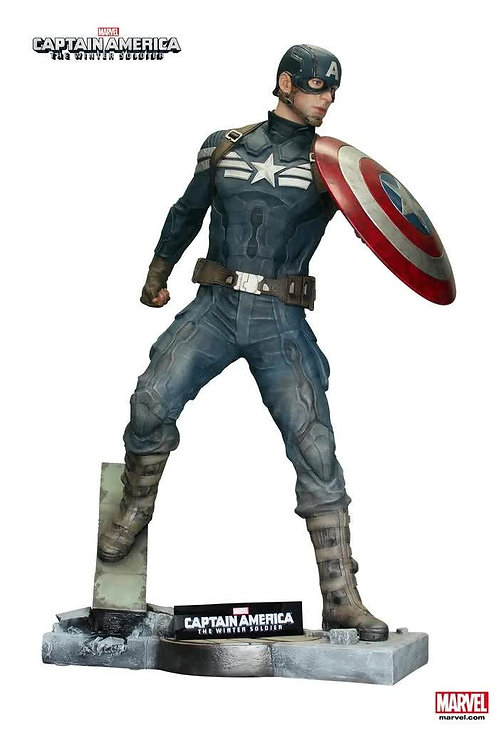 キャプテンアメリカ 冬の兵士 等身大ディスプレイ(ライセンス品)