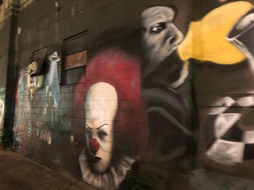ニューヨーク 壁アート02