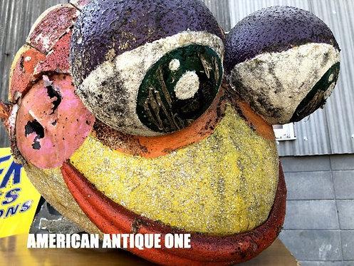 可愛い^^大きい♪カリフォルニア州 ローズ・パレードで実際に使用されたモニュメント!! 激レア!! USA非売品 大型120cm