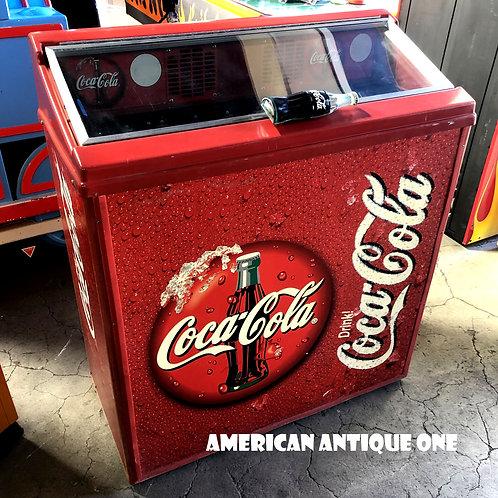 USAコカ・コーラ 大型99cm 冷蔵庫 動作確認OK!! USA直輸入
