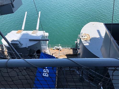 戦艦アイオワ 船内033