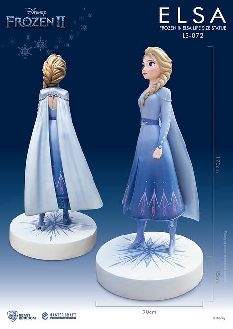 Disney Frozen 2 Elsa 170cm