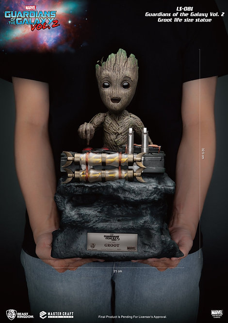 Baby Groot Guardians of the Galaxy /  Beast Kingdom