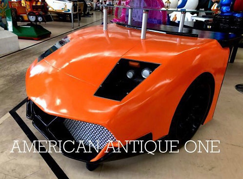 Super car / counter desk Orange