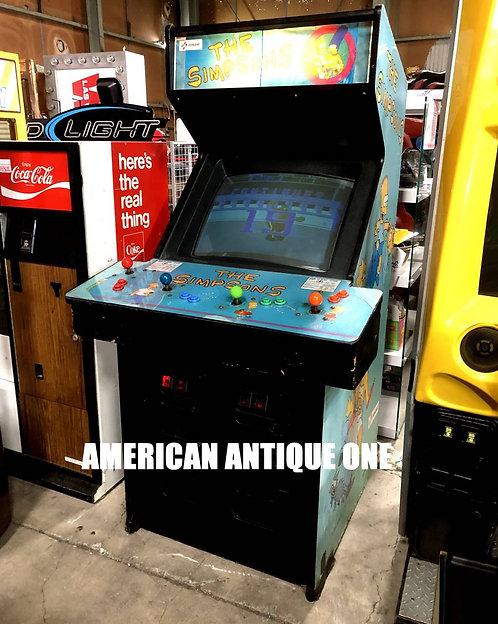 1991 The Simpsons arcade game KONAMI