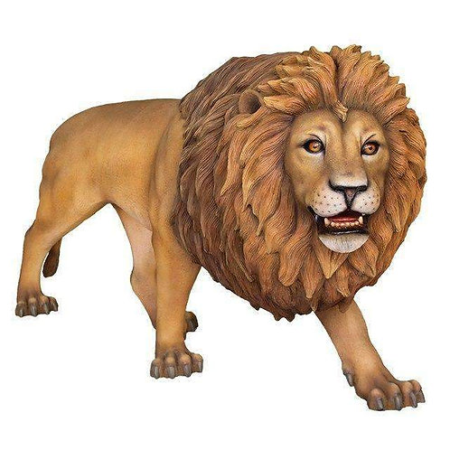 百獣の王 ライオン 等身大フィギュア