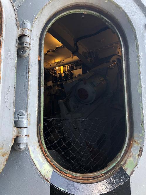 戦艦アイオワ 船内015