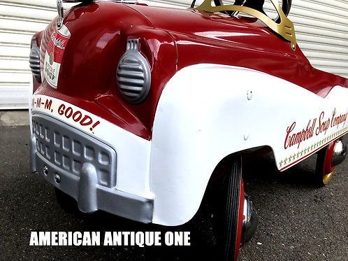 可愛い♪乗れる♪ 85cm×54cm 激レア キャンベルスープ ライド・オン ペダルカー USA直輸入