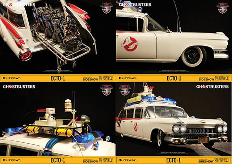 Ecto 1 / Ghostbusters Diecast 1:6