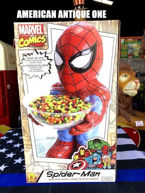 新品未開封 BOX大型54cm スパイダーマン アメリカンキャラクター★キャンディーボール ルービーズ 発泡スチロール製