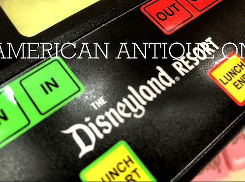 California Disney Resort /Time Recorder