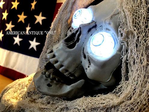 Halloween Skull / Move  154cm