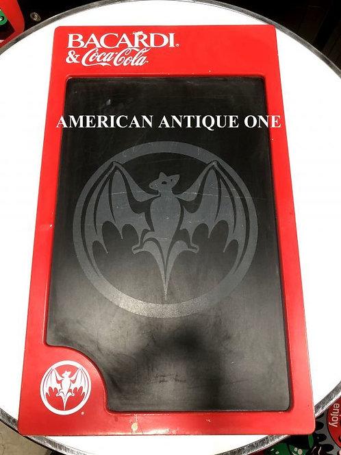 大型76cm USAコカ・コーラ バカルディ&コカコーラ ウェルカムボード 黒板 チョークで書き込める♪ 壁掛けOK!!