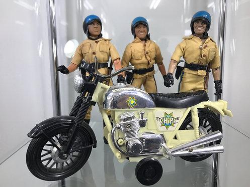 CHiPs Figure &Bike Set