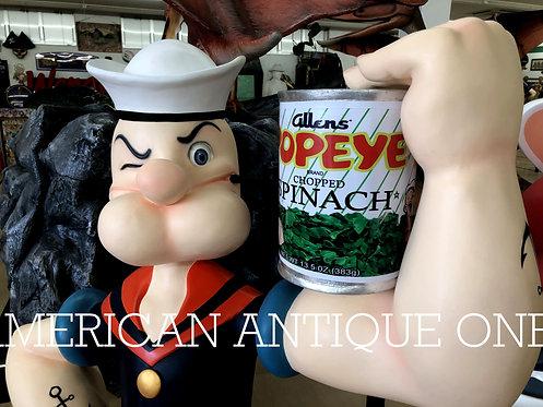 Popeye life-size figure