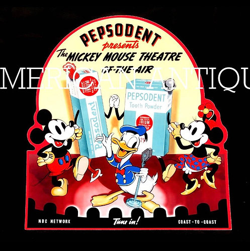 Mickey & Minnie & Donald Stand-up sign