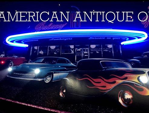 American Diner Galaxy Neon