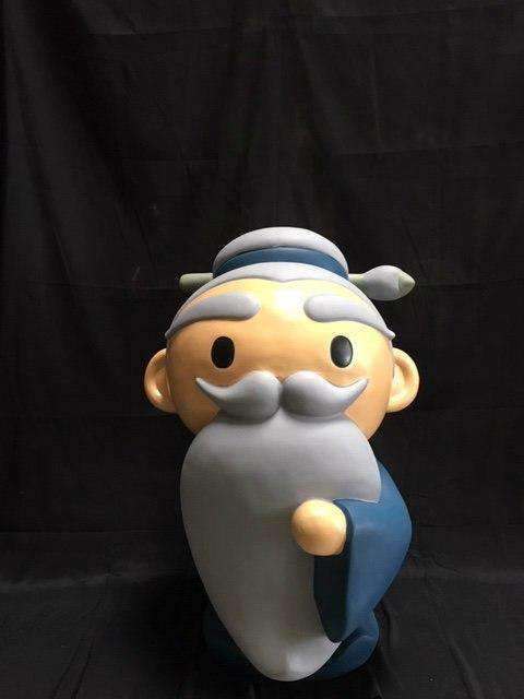 Old Man Avatar  Character Store Display