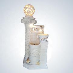 ライトアップ!! 新品未開封 大型158cm 室内外利用OK!! 噴水 循環ポンプ