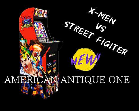 Marvel & Capcom co-produced 1UP arcade