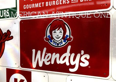 Interstate highway / Wendy's