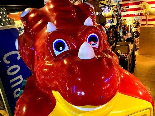 光る!!喋る!! 巨大205cm 恐竜 コインスター おもちゃの自動販売機 アメリカンヴィンテージ USA直輸入