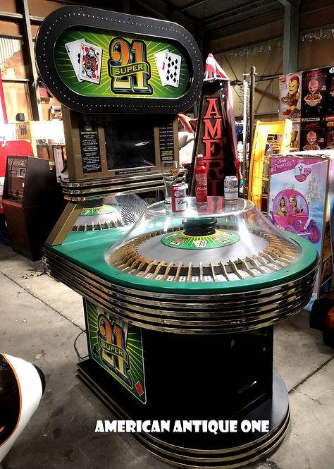 Blackjack arcade game Custom countertable