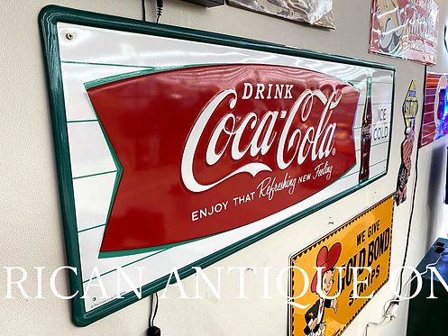 Limited to 500  Coca-Cola Sign