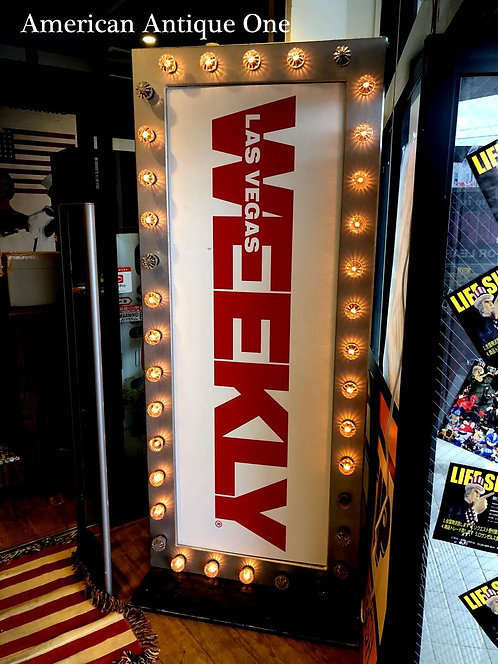 Las Vegas weekly  Promotional bord