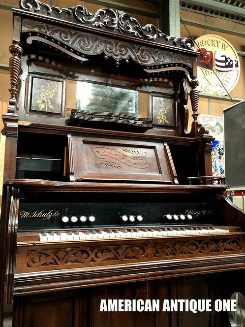 レトロな音色を奏でます♪ シカゴUSA アンティークオルガン アメリカン・ヴィンテージ USA直輸入