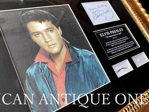 Elvis Presley / Hair Lock & Towel