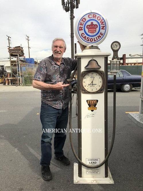 世界にひとつ!! あのミスターホットウィール直筆サイン入り!! 巨大210cm レッド・クラウン・ガソリン