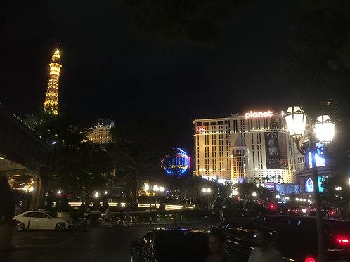 ラスベガス 夜の散歩