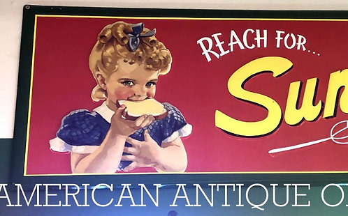 Sunbeam Bread Signboard