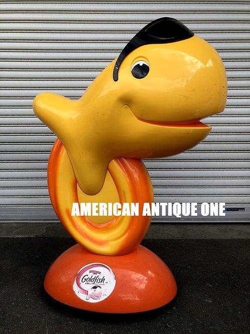 アメリカでも希少★ あのゴールドフィッシュ / USAシリアル 大型106cm フィギュア キャスター付き USA直輸入