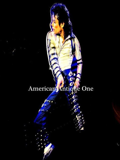 USA非売品 大型178cm マイケル・ジャクソン ネオン 点灯OK!! USA直輸入