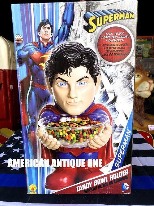 新品未開封 BOX大型54cm スーパーマン アメリカンキャラクター★キャンディーボール ルービーズ 発泡スチロール製